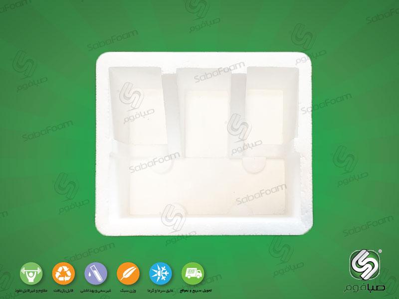 پلاستوفوم بسته بندی شیرآلات