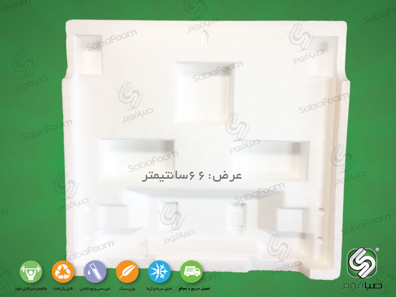 فوم بسته بندی کفی یخچال عرض66