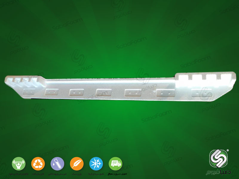 یونولیت بسته بندی یخچال - نبشی
